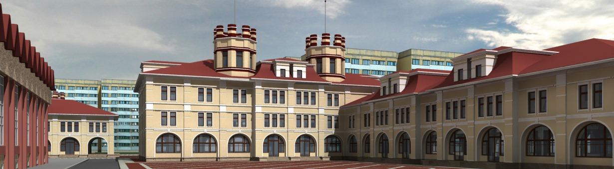 Проект конструкций здания